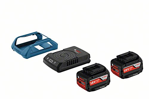 Bosch Professional Wirless Charging Starter Set GAL 1830 W und 2 x GBA 18 V 4,0 Ah MW-C, 1600A00C46
