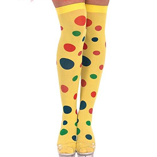 Strümpfe Clown Erw