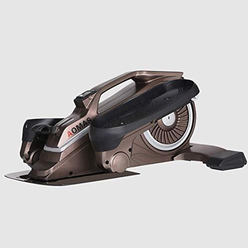 Personal Care Health Life HS Desk Ovale Mini Stepper Ovale Pedale Sneakers sotto Il Tavolo Design Unico Esercizio Muto Spazio Walk Machine Nero
