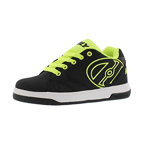 Heelys Propel 2.0, Sneaker a Collo Basso Uomo, Nero (Black/Bright Yellow/Ballistic), 36.5 EU