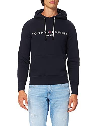 Tommy Hilfiger Herren Tommy Logo Hoody Kapuzenpullover, Blau (Sky Captain 403), 3XL