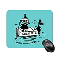 ムーミン リトルミイ マウスパッド 小型 ラバー 便利 防水 耐久性 DANESI 滑り止め オフィス/ゲーム用 おしゃれ 可愛い キャラクター