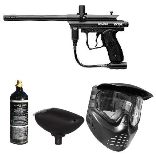Spyder Paintball Victor Gun Marker Package (Black)