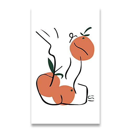 Póster de Matisse, carteles e impresiones, arte abstracto de línea corporal, muebles para el hogar nórdicos, pintura decorativa sin marco, F 30x40cm