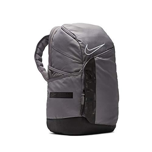 Nike Elite Pro Basketball Backpack BA6164 One Size (GUNSMOKE BLACK WHITE)
