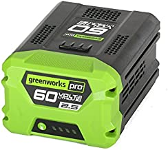 GreenWorks Pro 60-Volt Max 2.5-Amp Hours Rechargeable Lithium Ion (Li-ion) Cordless Power Equipment Battery