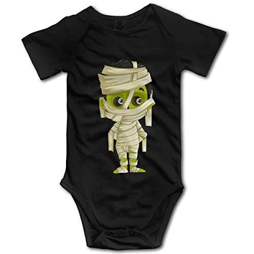 Combinaison Bébé Barboteuse Infant Toddler pour bébé Halloween Maman Nouveau-Né GILR Boy(6M,Noir)