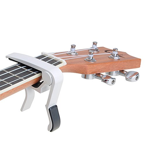 Kapodaster Gitarre Kapo Capodaster Capo für 6-Saiter Akustik Gitarre E-Gitarren Konzertgitarre Westerngitarre Ukulele Kapo
