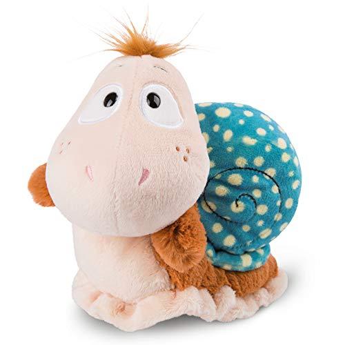 NICI 46507 Kuscheltier Schnecke 25 cm – Plüschtier für Mädchen, Jungen & Babys – Flauschiges Stofftier zum Spielen, Sammeln & Kuscheln – Gemütliches Schmusetier, BUNT