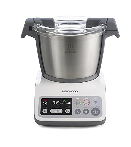 Kenwood CCC200WH Food Processor – Food Processors (Grey, White, Stainless Steel, Metal, Plastic)
