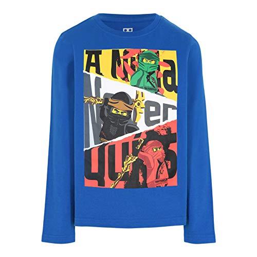 LEGO Ninjago Longsleeve Shirt Camiseta, 553, 122 para Niños
