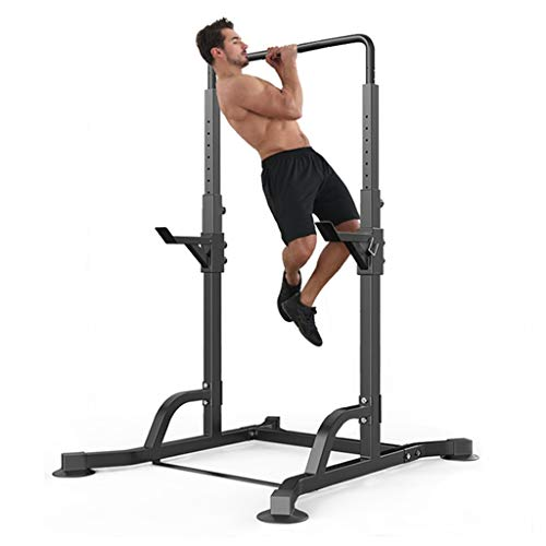 Barbell Rack Multifunctional Horizontal Bar Free-Weight Squat Rack Stands Pull-up Weight Reduction Frame Bench Press Squat Workout Strength Training Fitness Home Gym Equipment