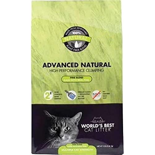 World's Best Cat Litter Advanced Zero Mess Pine Cat Litter, 12 lb