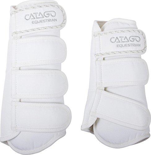 CATAGO Diamond Series Pferdeschuhe, weiß/weiß, Small
