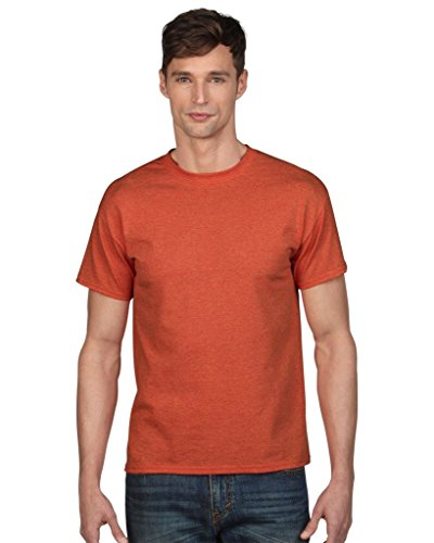 Gildan Herren Heavy Cotton Tee T-Shirt, Orange (Sunset), XL