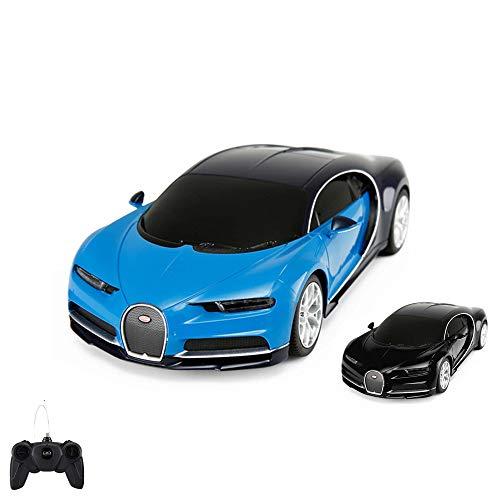 HSP Himoto Original Bugatti Chiron, Lizenz-Auto, RC Ferngesteuertes Fahrzeug, lizenziert, Modell-Maßstab 1:24, Ready-to-Drive, Auto inkl. Fernsteuerung, Neu
