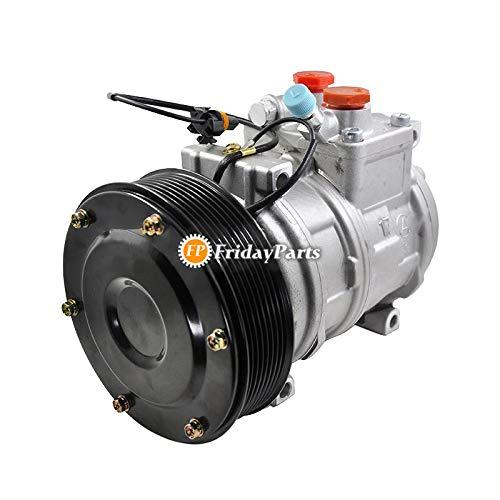 FridayParts 447100-2381 447100-2388 447200-3084 447200-3667 - Compresor de aire acondicionado para tractor John Deree