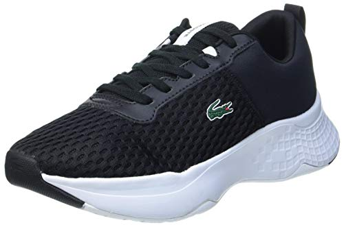 Lacoste Unisex Kinder Court-Drive 0120 1 SUJ Sneaker, Blk Wht, 37 EU