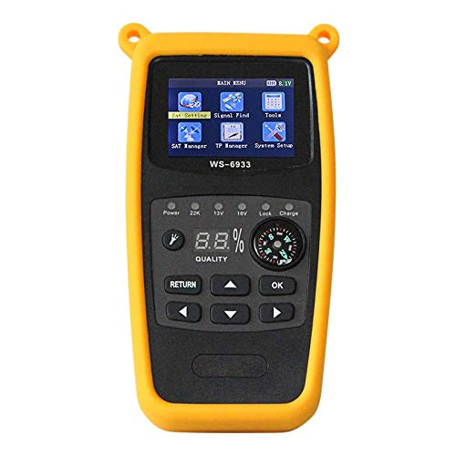 ZHITING-WS-6933 DVB-S2 Satellite Finder Meter FTA C & KU Band Digital Satellite Meter with Compass