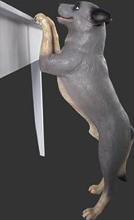 アニマルビッグフィギュアシリーズ【スタンディング ブルーヘラー犬】立つ犬(等身大フィギュア)