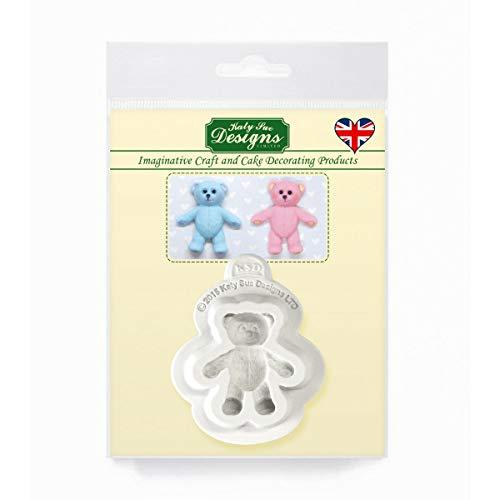 Baby Teddy beer siliconen mal voor taart decoratie, ambachten, cupcakes, suikerwerk, snoepjes, chocolade, kaarten maken en klei, voedselveilig goedgekeurd, gemaakt in het Verenigd Koninkrijk