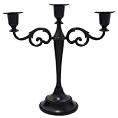 🙌【 Elegant Candelabra Candle Holder 】 – This beautiful decorative candelabra piece is guaranteed to be a perfect addition to a formal event or holiday party. It is a perfect centerpiece for a home table, church, chapel, temple or any other place you ...