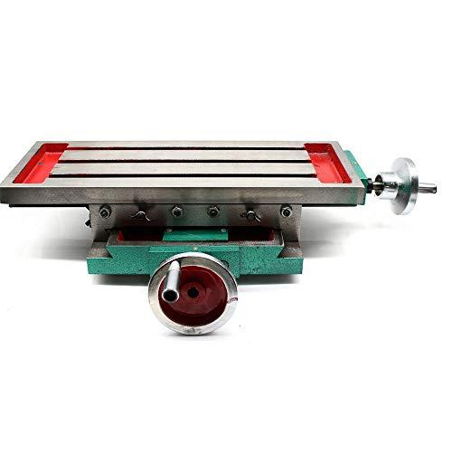 2 ejes, mesa de fresado, fresadora cruzada, máquina de fresado en cruz X/Y, multifunción, mesa de trabajo de metal