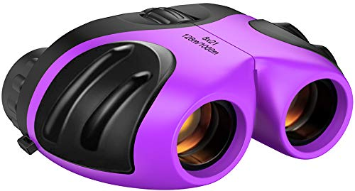 Binoculars for Kids, ATOPDREAM Kids Binoculars for Girls Age 3-12 High Resolution Telescope for Bird Watching,Travel,Camping Outdoor Toys for 3-12 Years Girls Boys Best Gifts for 3-12 Year Old Girls