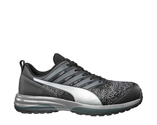 Safety Charge Low Chaussures de sécurité S1P ESD HRO SRC avec capuchon en fibre de verre anti-perforation, antidérapant, résistant à la chaleur, végétalien, unisexe