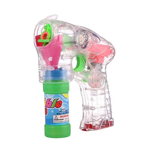 MYHH Elektro-Transparent Spielzeug Blase Gun, Blase Flüssigkeit Nicht enthalten.