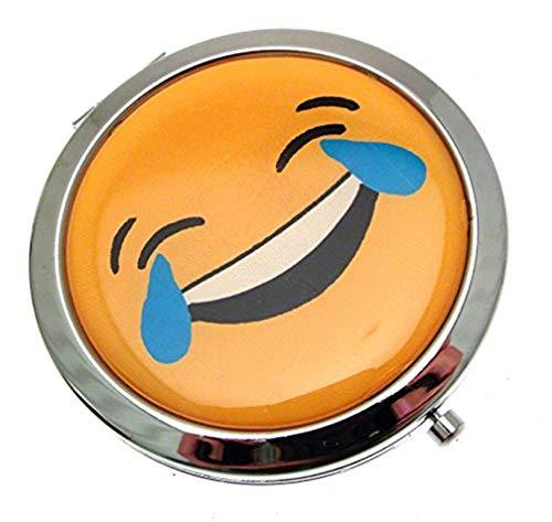 Miroirs de poche Emoji pour sac à main
