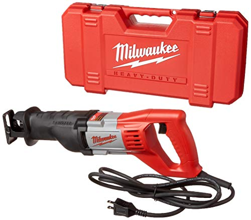 MILWAUKEE'S 6519-31 12 Amp Corded 3000 Strokes Per Minute Reciprocating Sawzall w/ Variable Speed Trigger