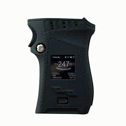 RUIYITECH Protector de pantalla para SMOK MAG 225 W Mod mano derecha, funda de silicona protectora para la piel SMOK Mag 225 W mano derecha negro