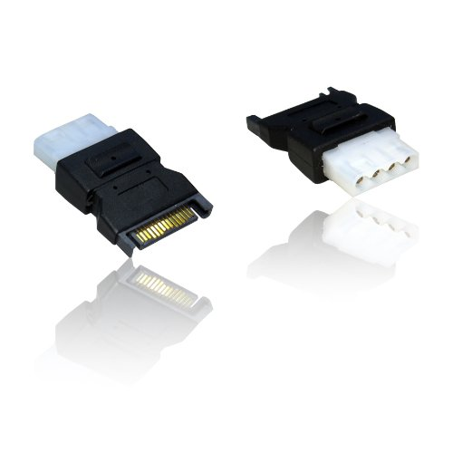 SATA Serial ATA to Molex Power Cable Lead Wire Adaptor Convertor for HDD