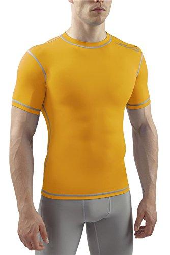 Sub Sports, Intimo da Uomo a Doppia Compressione, Uomo, Yellow, M