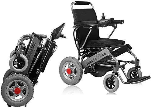 UUHHBBVV Automatisches Selbsthilfe-Hilfe-Hilfsmittel für Rollstuhl, Reisestuhl, tragbarer Rollstuhl, elektrischer Rollstühle