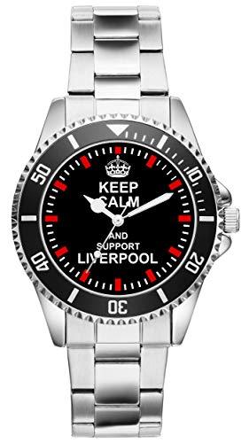 Liverpool 1710 - Reloj de Pulsera para Fans