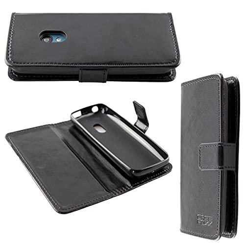 caseroxx custodia per Nokia 125/150 (2020), Bookstyle-Case Custodia protettiva book cover per smartphone in colore nero
