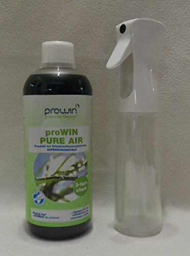 ProWin Pure Air 1000 ml & proWin Air Pump Flasche