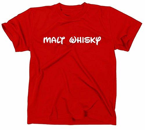 Styletex23 Malt Whisky T-shirt, Fun, Disney schrift