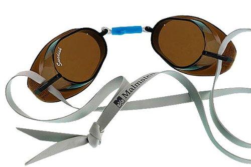 Beco Unisex – volwassenen Zweedse bril, anti-condens-99221, smoke, één maat
