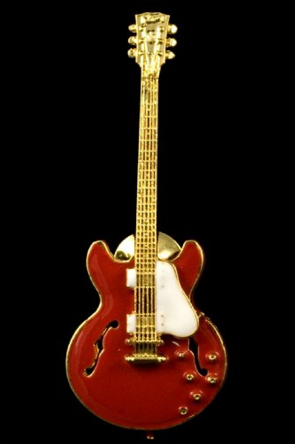 ES335 Hollowbody Guitar Pin - Red