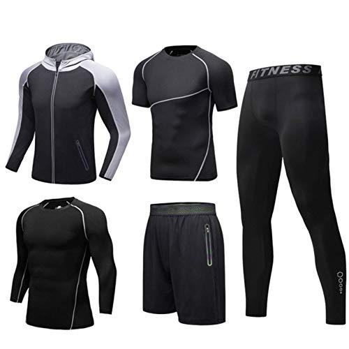 N-B Men's Sportswear, Sports Suits, Gym Yoga Track and Field Fitness Jogging Sportswear