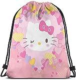 not applicable Clásica con Asas-Lovely Hello Kitty Gimnasio Mochila Bolsa de...