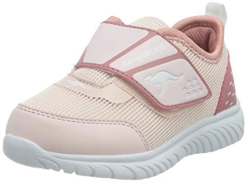 KangaROOS Jungen Mädchen KI-Dinky V Sneaker, Frost Pink/Dusty Rose 6145, 28 EU
