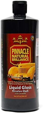 Pinnacle Natural Brilliance PIN-720 Liquid Crystal Rinseless Wash with Carnauba, 32 fl. oz.: image