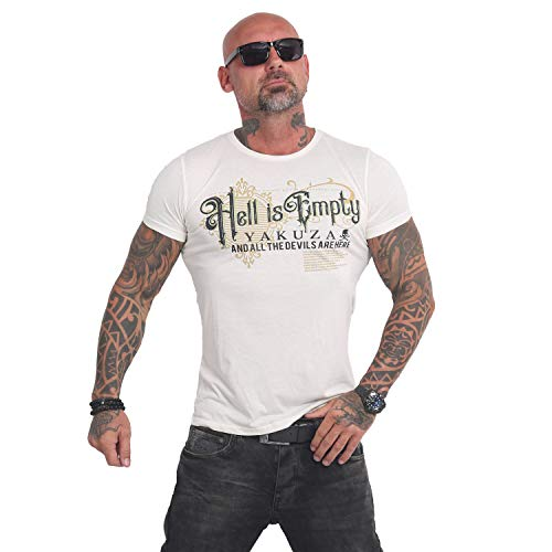 Yakuza Herren Hell is Empty Burnout T-Shirt