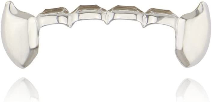 Max 51% OFF Braces Single Vampire Teeth Limited price sale Gold Dentures Golden for