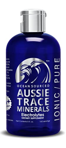 Aussie Trace Minerals (8 oz) - Complete Electrolyte - 3rd Party Tested - Please Consider Your Source.