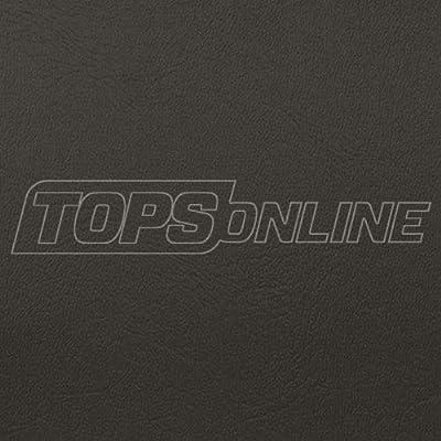 Blazer II Vinyl (Yardage) for Automotive, RV, Residential, and General Upholstery (Dark Gray, 5 Yards)